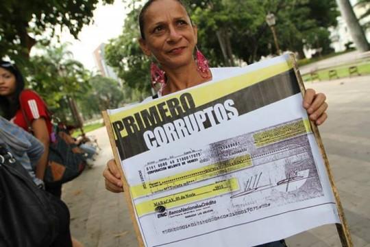 Aragüeñas y aragüeños respaldan lucha contra la corrupción