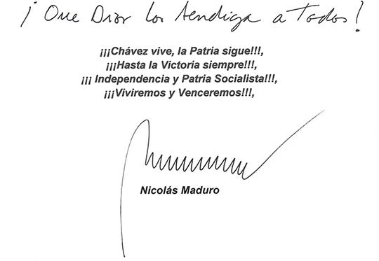 Firma Carta Presidente