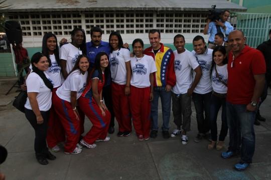 Tareck: en Aragua continuamos recuperando espacios para uso colectivo y disminución de la violencia