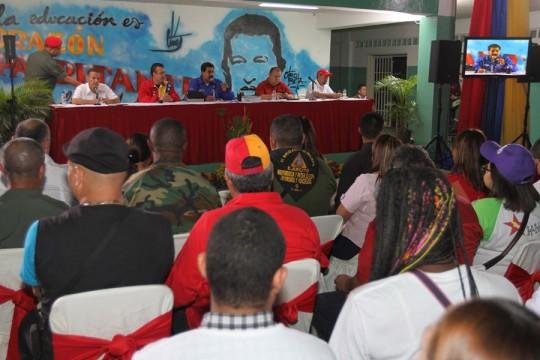 Presidente Nicolás Maduro respalda candidaturas de alcaldes de la patria en Aragua