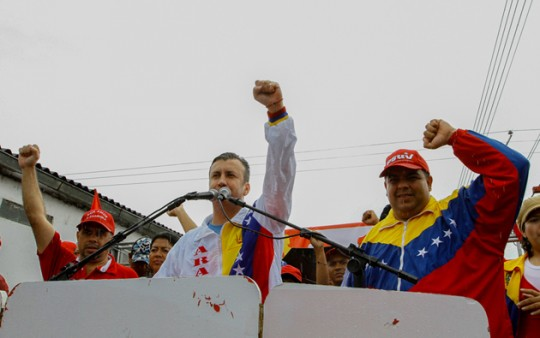 Foto: Prensa Comando de Campaña Aragua / José Peñalver