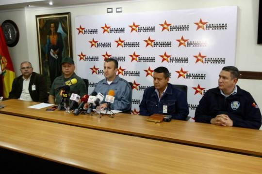 Tareck El Aissami informó que todos los organismos de seguridad se encuentran desplegados y alertas ante fuertes lluvias