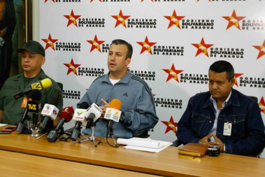 Tareck El Aissami anunció el pago de pasivos laborales