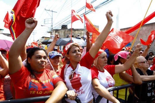 Las Unidades de Batalla Hugo Chávez del municipio Girardot fueron abanderadas
