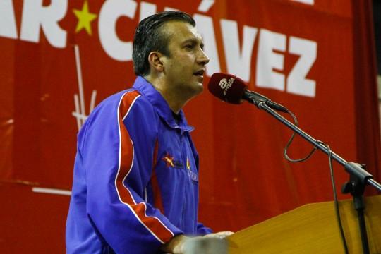 Tareck El Aissami en encuentro con UBCH de Aragua