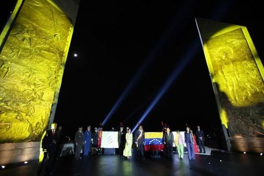 Monumentos del heroico José Félix Ribas y del Día de la Juventud venezolana