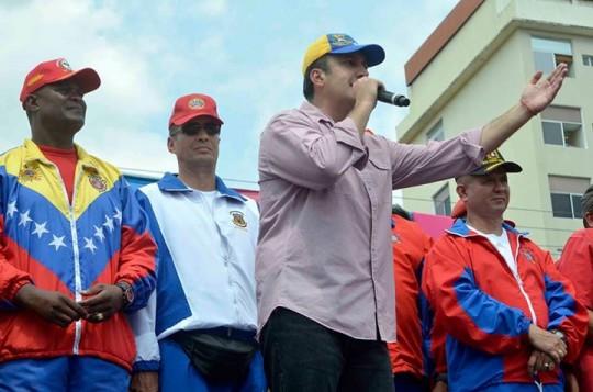 Tareck El Aissami: Aquí hay un pueblo resteado con Nicolás Maduro