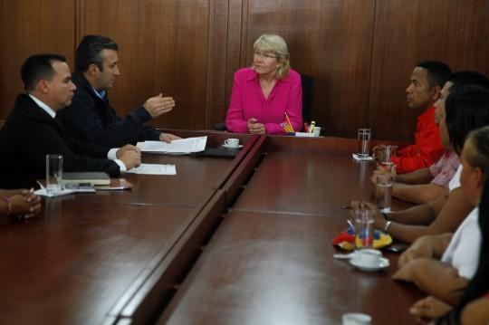 Gobernador Tareck el Aissami Denuncia ante el MP a Delson Guarate (9)