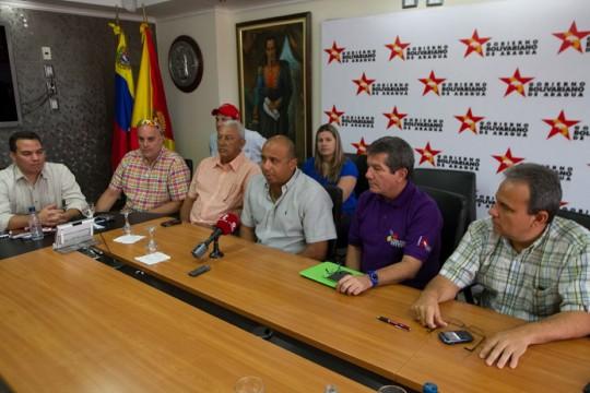Junta directiva de los Tigres de Aragua