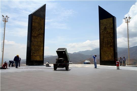 El Aissami inspeccionó obras del Bicentenario en La Victoria