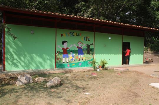 Gobierno Bolivariano de Aragua rehabilita escuela de Cepe