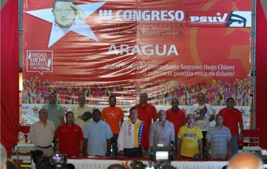 Acto de movilización y despliegue del PSUV