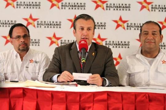 El Aissami y gremios docentes firmaron VII convención colectiva