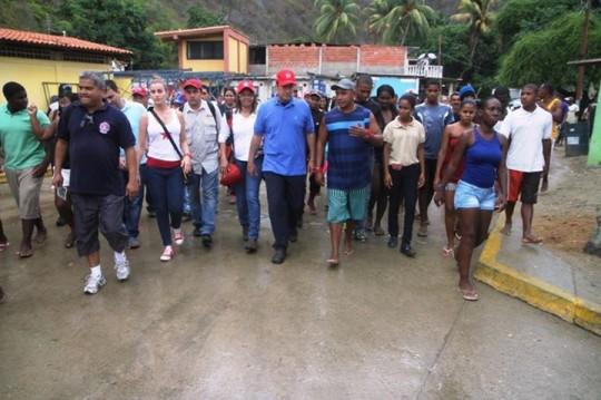 Visita del gobernador El Aissami a Puerto Maya en pasado 8 de mayo