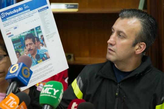 "Tareck El Aissami exigió cese de ""campaña terrorista"" contra Hospital Central de Maracay"