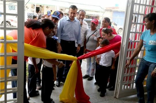 Tareck El Aissami inauguró Escuela Básica Estadal Humberto Miguel Anzola