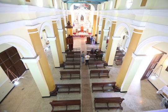 Iglesia patrimonial de Santa Clara en Choroní