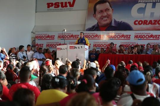 Encuentro de militantes del PSUV con Tareck el Aissami