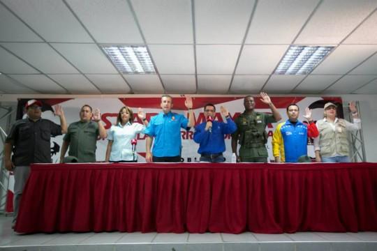 Instalación del Comando Popular CívicoMilitar contra Guerra