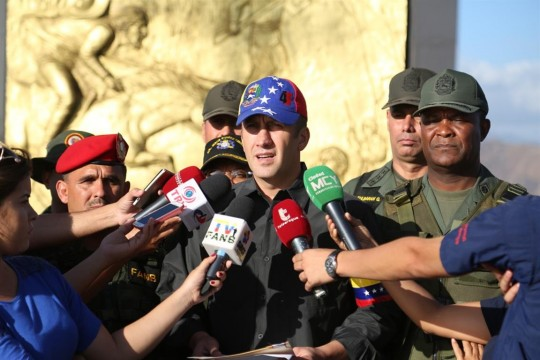 Prácticas Cívico Militar del estado Aragua