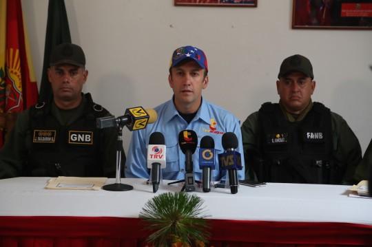 Tareck El Aissami ofreció balance del operativo de seguridad en el sur de Aragua