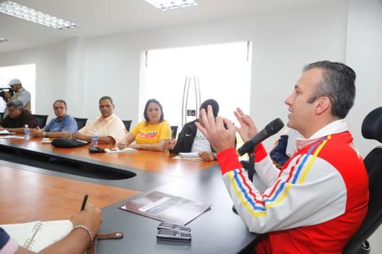 Reunión de trabajo con el comando de campaña Simón Bolívar de Aragua