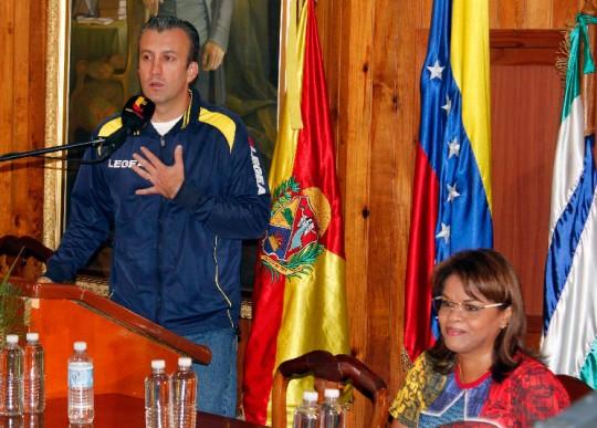 Entrega de Pensiones en Aragua