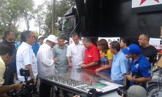 Ciudad socialista 4F en Maracay
