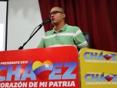 Héctor Rodríguez se reúne con el Comando Campana en Carabobo, 30 de octubre de 2012