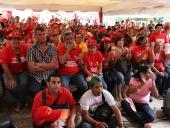 Conversatorio con el Poder Popular, en El Limón, municipio Mario Briceño Iragorry. 2 de noviembre de 2012.