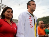 Abanderamiento de UBCH en José Rafael Revenga. 24 de octubre de 2013
