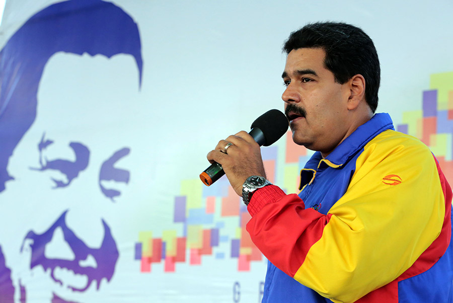 Activación de la Gran Misión Barrio Nuevo, Barrio Tricolor en Aragua. 18 de noviembre de 2013