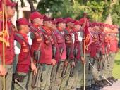 Acto de transmisión de mando de la Guardia del Pueblo en Aragua