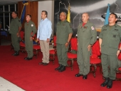 Acto en el Gran Salón de la Academia Militar de la Aviación Bolivariana. 03 de julio de 2013