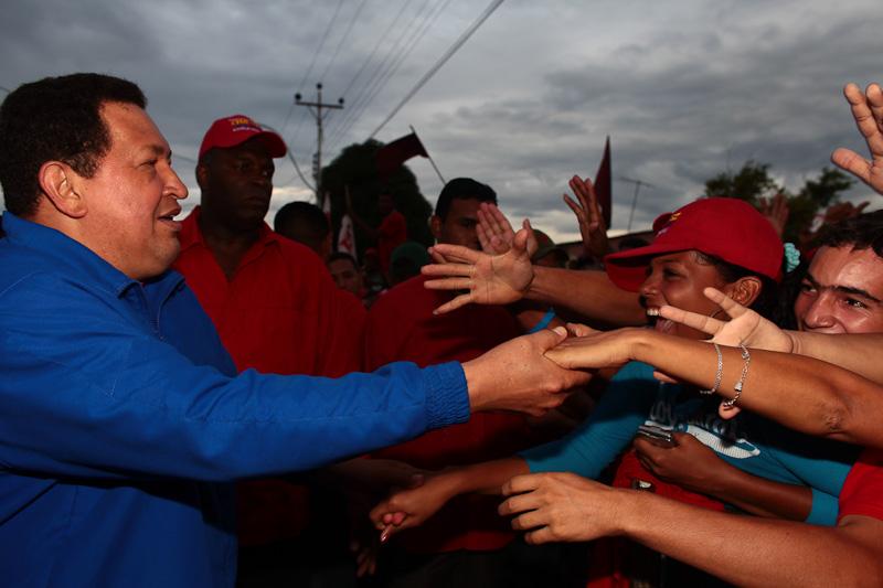 Candidato de la Patria de corazón con el pueblo de Sucre