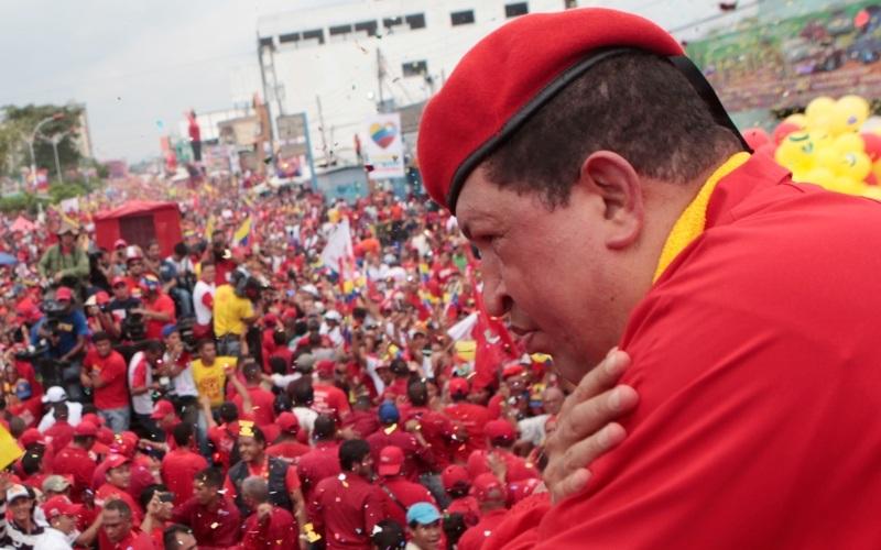 El inicio de la campaña marcó el despliegue del pueblo venezolano quien junto a Chávez, Candidato de la Patria emprende la marcha a la victoria del próximo 7 de octubre. En caravana desde Carabobo hasta Aragua el huracán bolivariano  comienza la ruta para el triunfo popular. Región central del país 01 de julio de 2012.