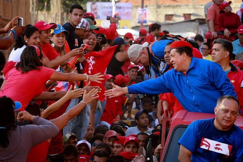 Chávez participó en Consejo de Ministros  en el Palacio de Miraflores