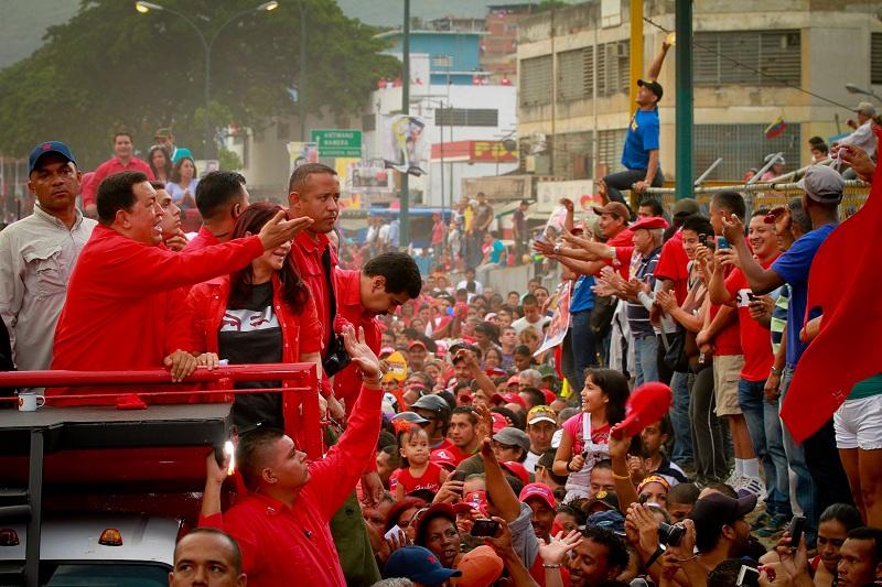 Chávez y el pueblo de Antímano son corazón de la patria
