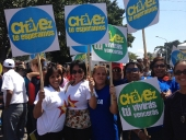 Aragua festeja regreso de Chávez a Venezuela. 18 de febrero de 2013