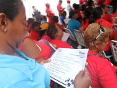 Asamblea con representantes de misiones en Camatagua. 14 de septiembre de 2013