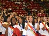 Aragua Voleibol Club recibió la Orden Samán de Aragua. 9 de septiembre de 2013