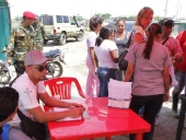 Atención integral a la comunidad de Fundo Coropo por las Lluvias. 06 de mayo de 2013