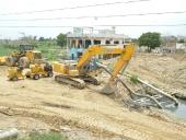 Aumentan capacidad de extracción de agua en canal de Paraparal. 16 de mayo de 2013.