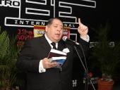 """Bautizo del libro """"Chávez y el proceso constituyente de 1999"""". 28 de septiembre de 2013"""