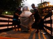 Centro de Acopio de pescadores en Choroní recibió dotación. 22 de julio de 2013.