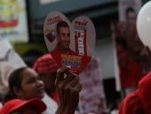 Aragua se desbordó durante el acto de cierre de campaña de Tareck El Aissami en la Avenida Bolívar de Maracay. El Aissami afirmó que nunca jamás traicionará el amor que siente el pueblo de Aragua por el líder de la revolución bolivariana. 13 de diciembre de 2012.