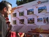 Tareck El Aissami inauguró puente Los Hornos - Las Animas. 24 de enero de 2014