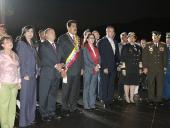 Desfile cívico-militar por el Día de la Juventud