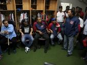 El Aissami dotó de implementos deportivos a Los Tigres de Aragua. 8 de octubre de 2014