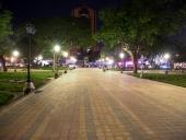El Aissami supervisó rehabilitación de la Plaza Bolívar de Maracay. 10 de octubre de 2014